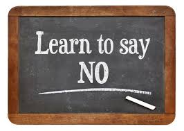 Learn To Say No To Fear