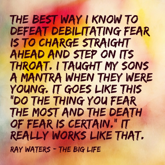 Standing Up To Your Fear