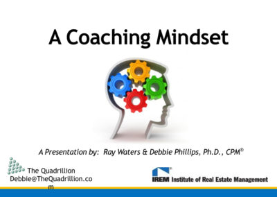 A Coaching Mindset Dr. Debbie Phillips & Ray Waters.001